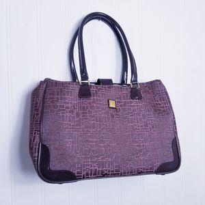 Diane Von Furstenberg Monogrammed Large Travel Bag
